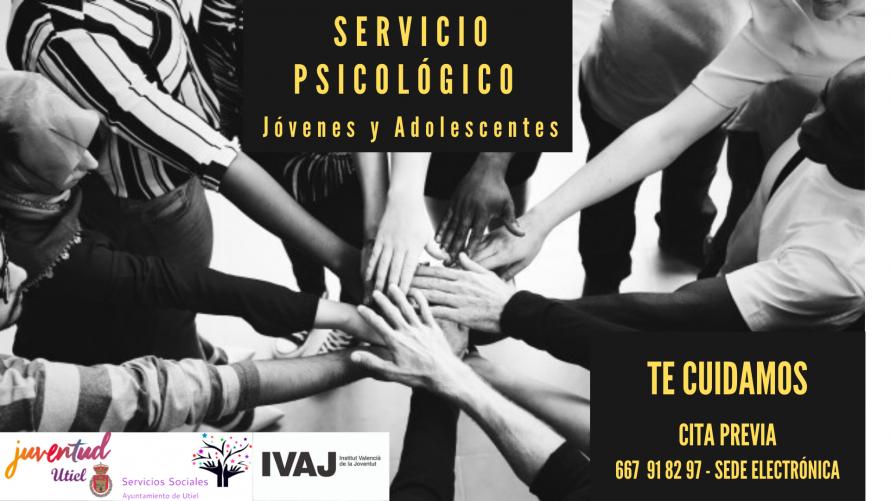 Utiel pone en marcha un servicio psicológico para jóvenes
