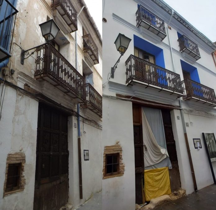 Utiel convoca ayudas para la rehabilitación de fachadas y redacción del IEE en edificios en su casco histórico