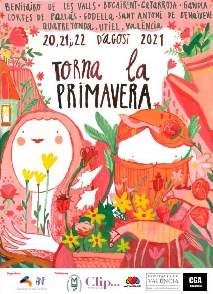 """La Puerta del Sol de Utiel se engalana con flores para la 2ª edición """" Torna la primavera"""""""