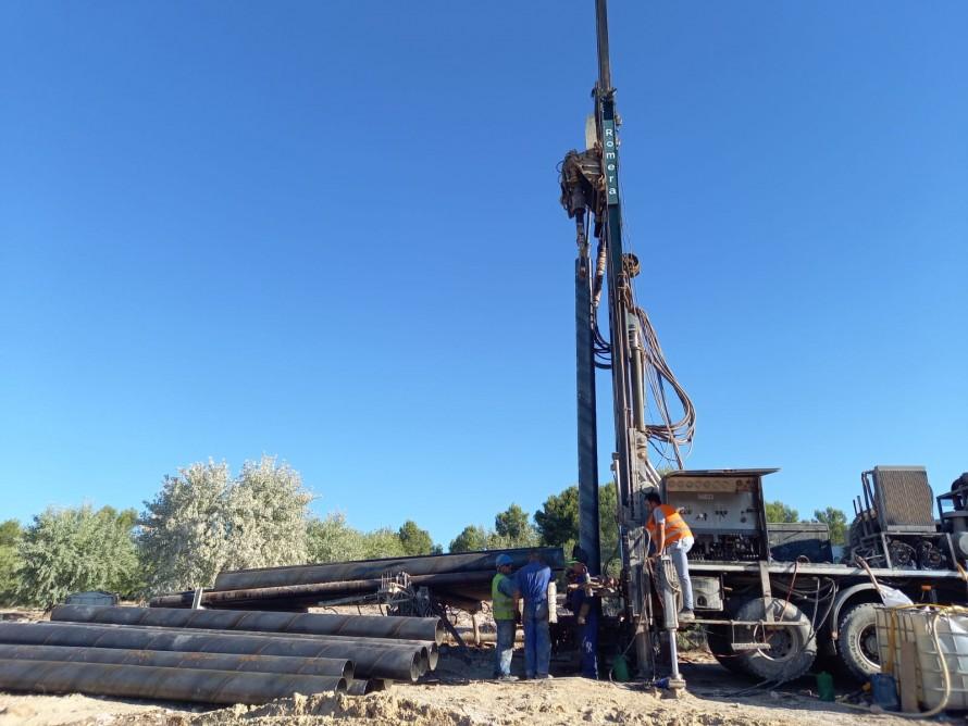 Finaliza la perforación de un nuevo pozo en Utiel que complementará a la red de agua actual