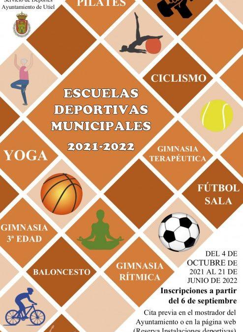 Vuelven las Escuelas Deportivas Municipales de Utiel con nuevas actividades