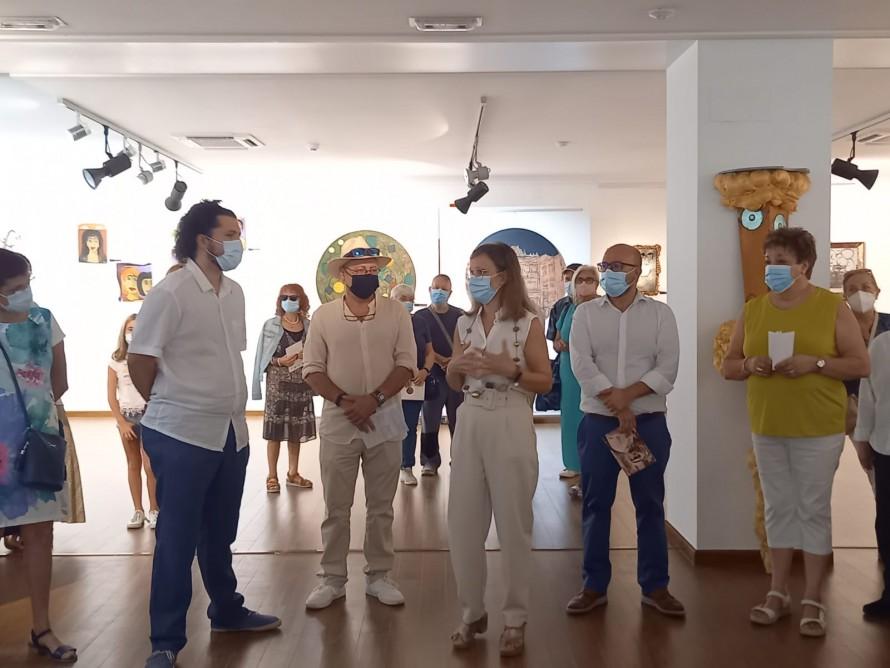 """La Casa de Cultura de Utiel acoge la exposición homenaje al artista utielano Jose Ballesteros """"Pepo"""""""
