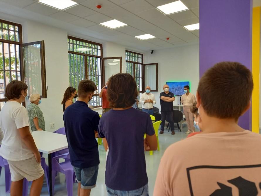 El director del IVAJ destaca que el Centro Joven de Utiel será un motor de participación y ocio educativo para la juventud